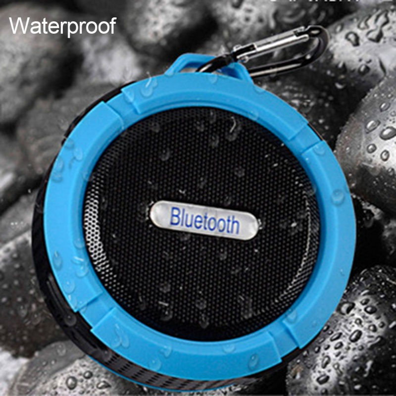 IPX6 Waterproof Outdoor Wireless Bluetooth 4.0 Stereo Portable Speaker Built-in mic Shock Resistance Speakers with Bass
