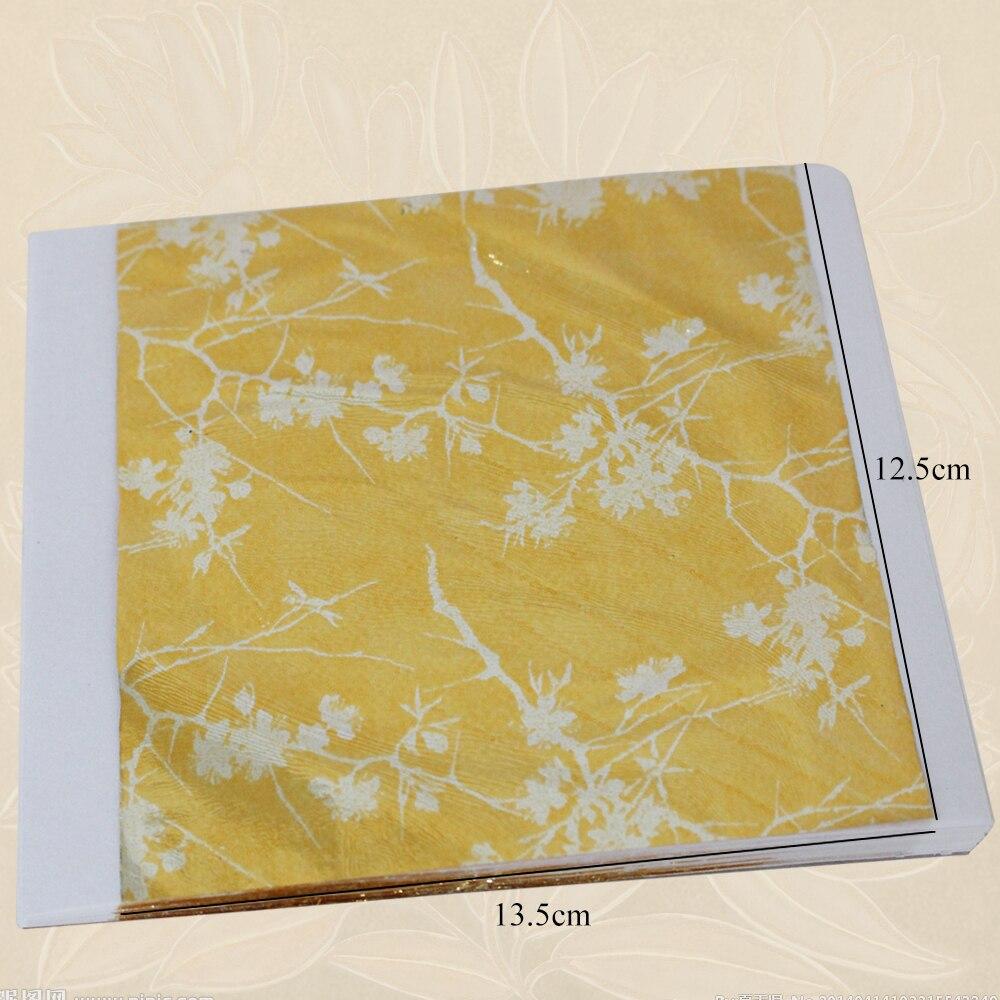100 PCS Type 2 colorful gold leaf, imitation gold foil, alloy foil ...