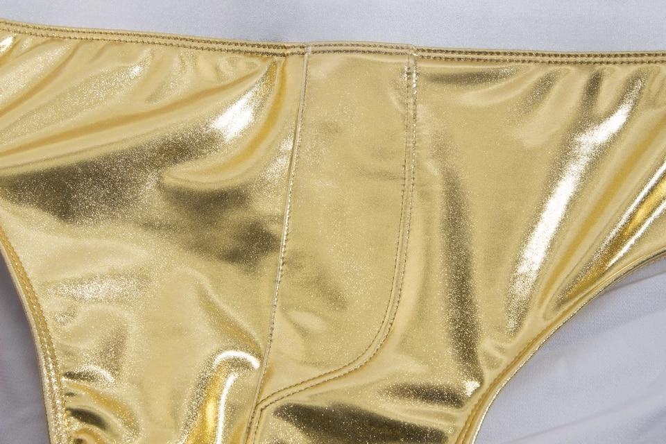 c3034157fd Swimsuits Men Sunga Zwembroek Heren Metallic Gold Print Belt Swimsuit Mens  Swim Briefs Sungas De Praia Homens 238