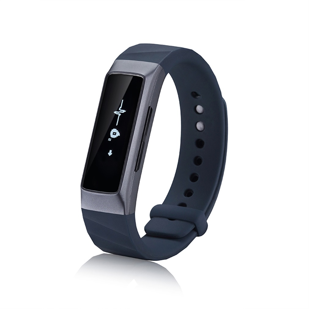 C1 Smart Watch Heart Rate Oxygen Pressure Pulse Oximeter Blood Wristband Bracelet OLED Sport For IOS Android Health Managment