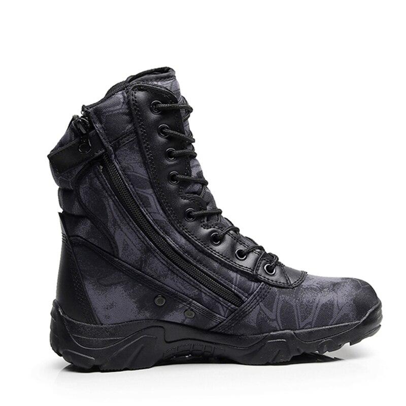 Cheville Bottes Vintage Top Combat Avant Xx Travail Cuir Sécurité 405 Militaire Up Armée High sandy Hommes Tactique Chaussures Lace Noir En De Mens Au HEwtFq7n