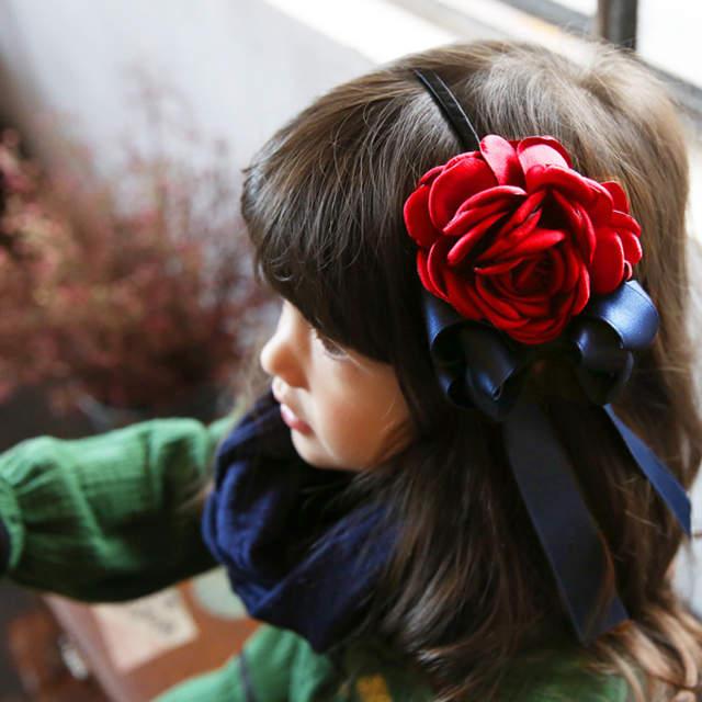 Korea Spring Flowers Hand Made Ribbon flowers Retro Hair Accessories Hair  Bows Flower Crown Hairpin Headbands 0c33641cc893