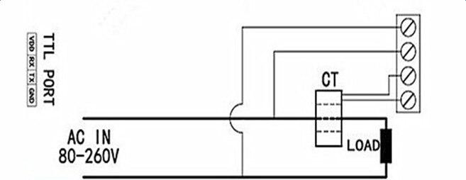Peacefair AC 80 260 V/100A Überwachung Multimeter Strom Spannung ...