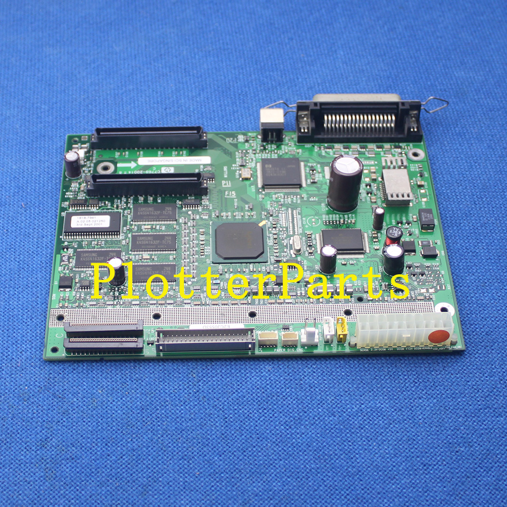 C7770-60048 Electronics Module for HP DesignJet 800 815 820 plotter parts Original Used electronics module formatter main logic board for hp designjet 510 510ps ch336 67002 plotterparts original used plotter parts
