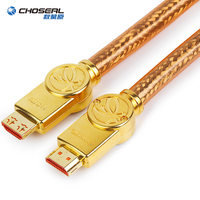 CHOSEAL HDMI Cable 4K 60Hz Silver Plated HDMI Cable 2.0 HDR for HD TV Box Xiaomi Projector PS4 Cable HDMI 1.5/3/10M