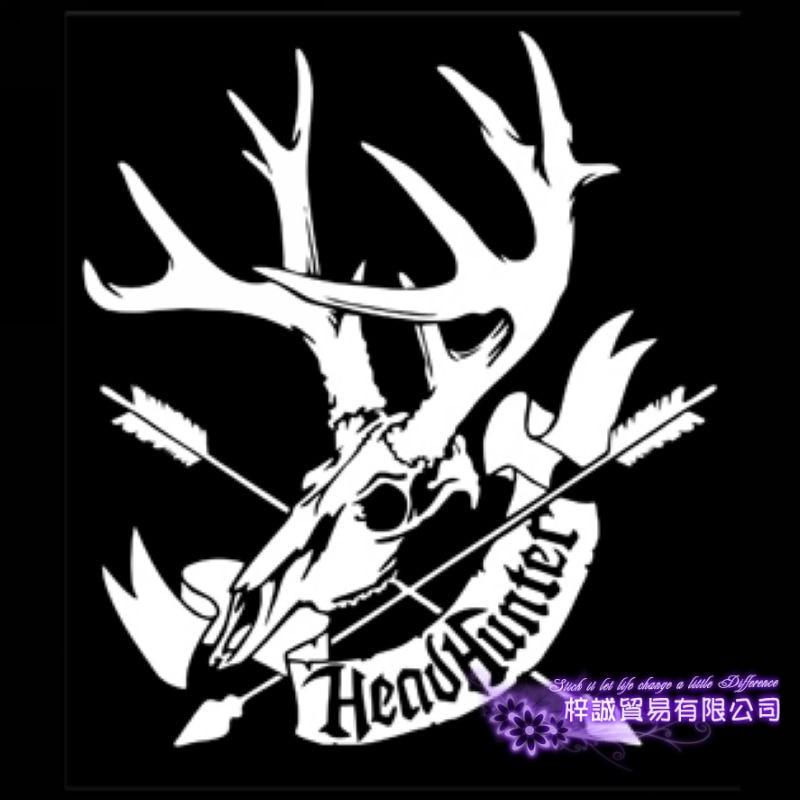 Hunt Buck Deer Hunter Decal Hunting Club Sticker Hollow Sticker Hunter Car Window Vinyl Decal Funny Poster