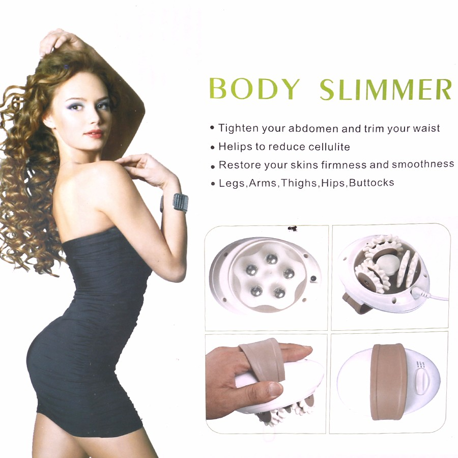 3D Electric Body Massager Roller Slimmer Fat Burne Relax Body Motorized Roller Slimming Massager font b