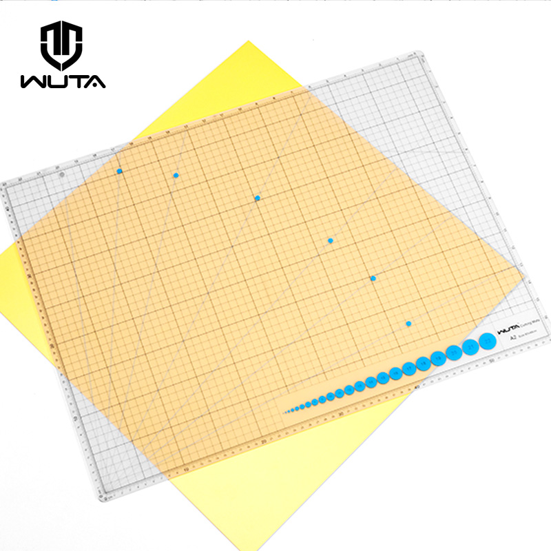 WUTA Original Design Double Side A2 Cutting Mat New Material Translucent DIY Craft Self Healing Cutting Board PVC Scabbard Mat