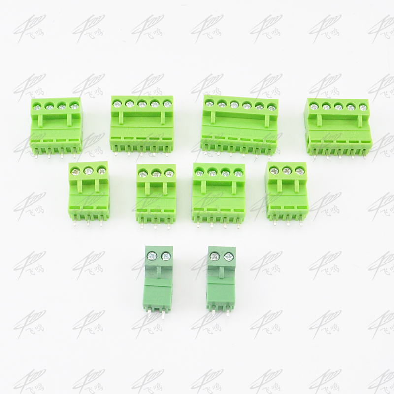 10sets Terminal plug type ht5.08 5.08mm pitch connector pcb screw terminal blocks connector Right Angle 2/3/4/5/6/7/8P Green 10A10sets Terminal plug type ht5.08 5.08mm pitch connector pcb screw terminal blocks connector Right Angle 2/3/4/5/6/7/8P Green 10A