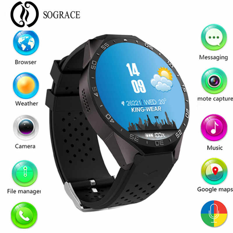 Kw88 Smart Watch Android 5 1 IOS Electronics Support 3G Wifi Micro SIM  Android 1 39 Inch CPU MTK6580 SmartWatch Phone Y15*