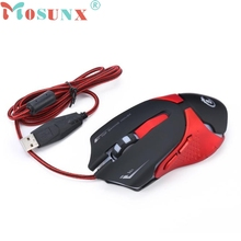 Ecosin2  6D LED Optical USB Wired 3200 DPI Pro Gaming Mouse
