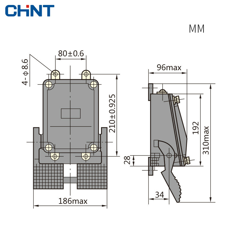 CHINT Foot Switch Lathe Punch Machine Tool Pedal YBLT 1 11 Pedal Switch in Switches from Lights Lighting
