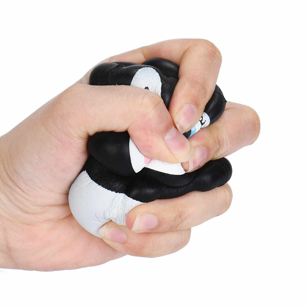 Squishy suave lindo pingüinos blandita lento aumento de crema perfumada de descompresión barato juguetes DROPSHIPPING. exclusivo.