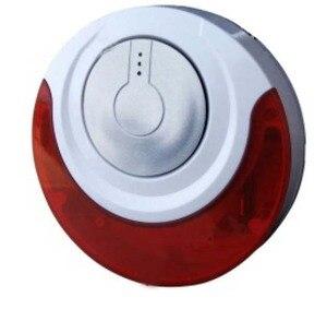 Image 1 - التركيز MD 214R اللاسلكية 433mhz/868mhz داخلي داخلي صفارة تنبيه بالوميض فلاش صفارة الإنذار 110db الأحمر