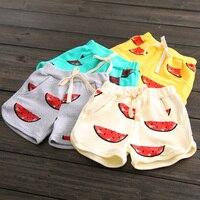 Kz-6726 Baby Watermelon Shorts 2017 Summer Wear Korean New Pattern Catamite Girl Children's Garment Children Tight Pants You