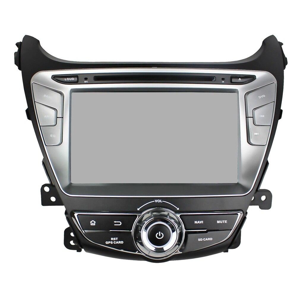Android 8.0 octa base 4 GB RAM lecteur dvd de voiture pour HYUNDAI Elantra Avante I35 ips écran tactile tête unités bande enregistreur radio