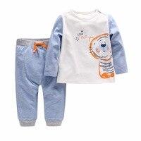Autumn Winter boy Baby Pure Cotton 2 Pieces Of Suit Newborn Clothes Boy's Split Suit Baby Boy Clothes