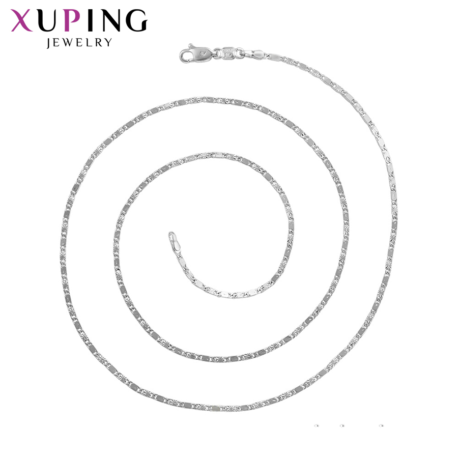 11.11 Deals Xuping Jewelry Luxury Chains Necklace Temperament Fashion Jewelry Top Sale for Women Party Wedding Gift S121,4-45107