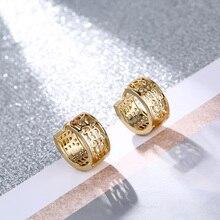 FYM Brand High Quality Fashion 3 Colors Hollow Hoop Earrings For Women Jewelry Earrings Female Brincos For Women Jewelry Party fym high quality 7 colors rhinestone cz zircon boho hoop earrings for women steampunk style party jewelry accessories