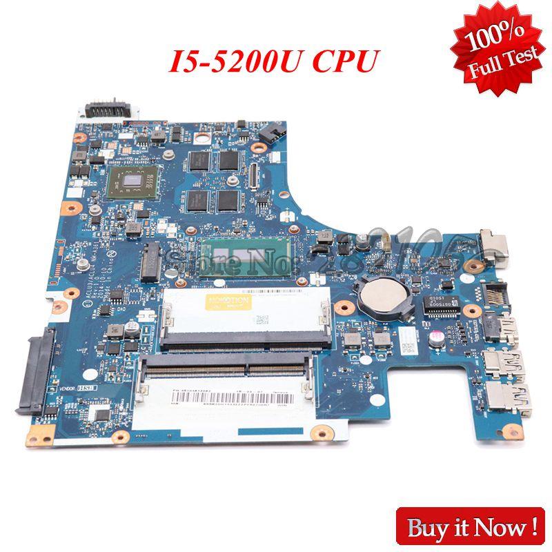Carte principale Nokotion ACLU3 ACLU4 NM-A361 pour Lenovo Ideapad G50-80 carte mère d'ordinateur portable DDR3L SR23Y I5-5200U CPU R5 M330 GPU