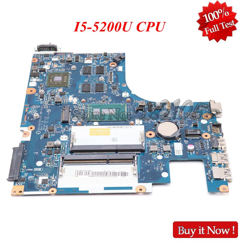 Nokotion ACLU3 ACLU4 <font><b>NM</b></font>-<font><b>A361</b></font> Main board For <font><b>Lenovo</b></font> Ideapad G50-80 Laptop motherboard DDR3L SR23Y I5-5200U CPU R5 M330 GPU image
