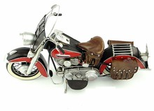 Free Shipping Handmade Antique Iron  Motorcycle Model 1952 Home Decor Motorcycle Model