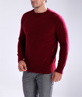 2015 New Arrive Winter Fashion Mink Cashmere Sweater O Neck Solid Warm Pullover Sweaters For Men