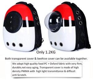 Image 4 - Wysokiej jakości Transport okienny przenoszenie oddychającej torby podróżnej bańka astronauta Pet Dog kapsuła kosmiczna plecak dla kota