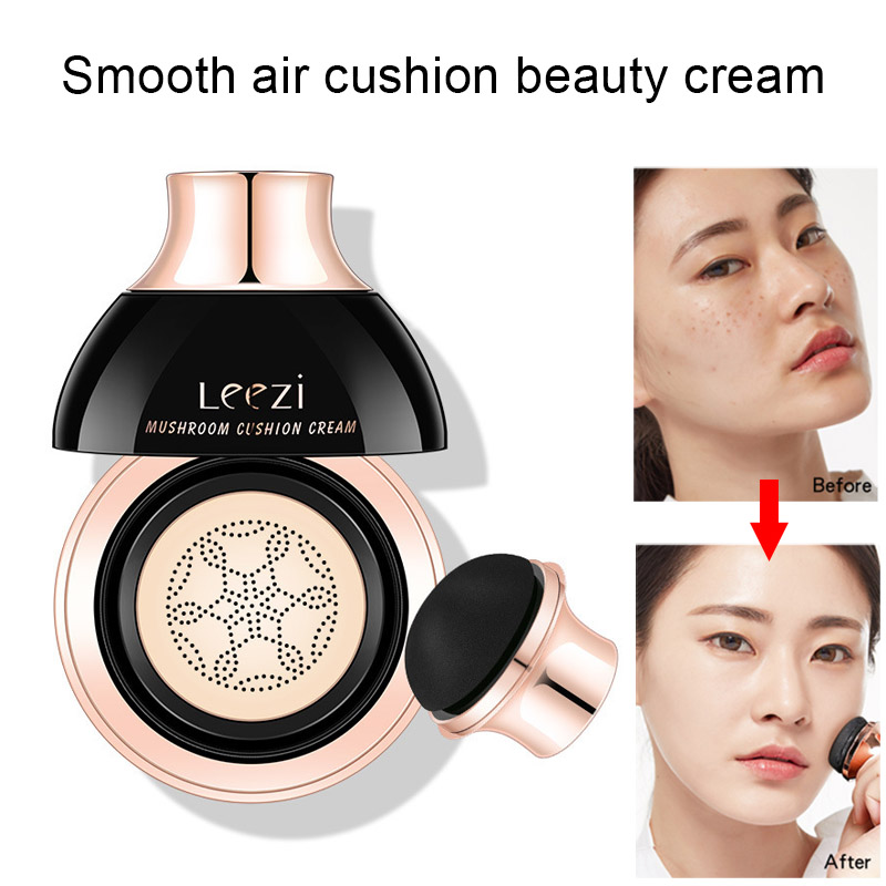 Air Cushion BB Cream Whitening Concealer Oil Control Natural Make Up with Mushroom Puff SK88 image