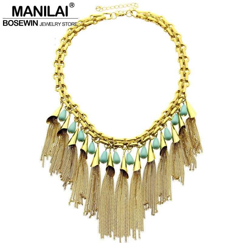 Buy bohemia design resin vintage chain for Best place to sell gold jewelry in chicago