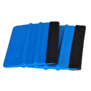 2pcs New Car Vinyl Wrap APPLICATOR Soft FELT EDGE Plastic Squeegee Tool scraper 3M(China)