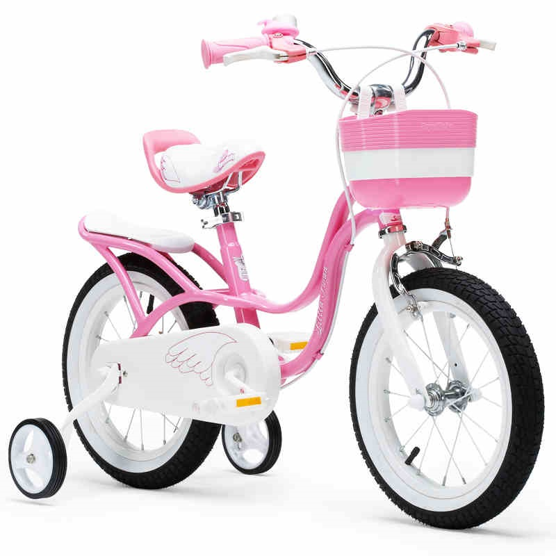 Upgraded Royalbaby 12 And 14 Inch Little Swan Girl's Bike