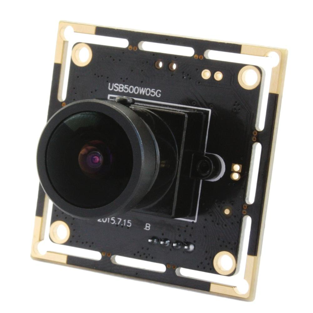 aliexpresscom buy elp 5mp high resolution high frame rate 30fps at 1080p 125 inch aptina mi5100 cmos sensor 170degree fisheye camera module from