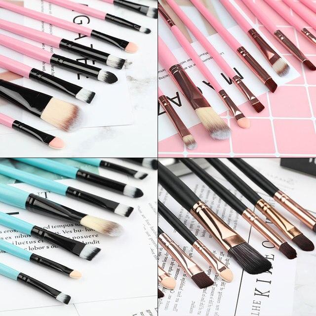 ROSALIND Makeup Brushes 20Pcs Professional Set Powder Foundation Eyeshadow Make Up Brushes Cosmetics Soft Synthetic Hair 2