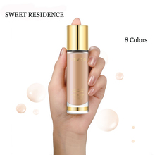 8 colors Liquid Foundation Invisible Full Coverage Make Up Concealer Whitening Moisturizer Waterproof Makeup