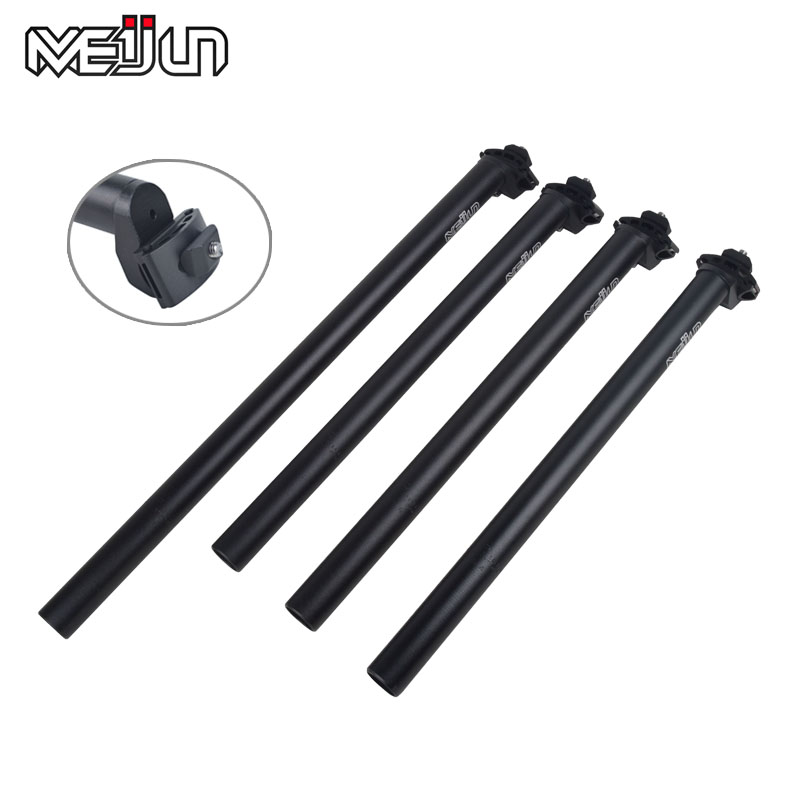 MEIJUN 25,4 / 27,2 / 28,6 / 30,4 / 30,8 / 31,6mm * 350/450 / 580mm Aluminiumlegering MTB Mountain Road Bike Seat Post Cykel Seatpost