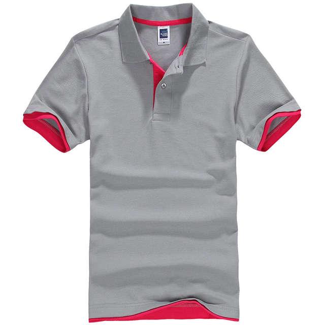 851adb4512c 2019 Summer Women   Men Pure Color Leisure Polo Shirt Black Pink White Plus  Size Breathable