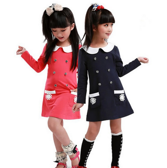 цена на Girls Dress Winter Children Clothing Brand Girls Dress Cartoon Kids Clothes for Princess Holiday Party Wedding Baby Toddler