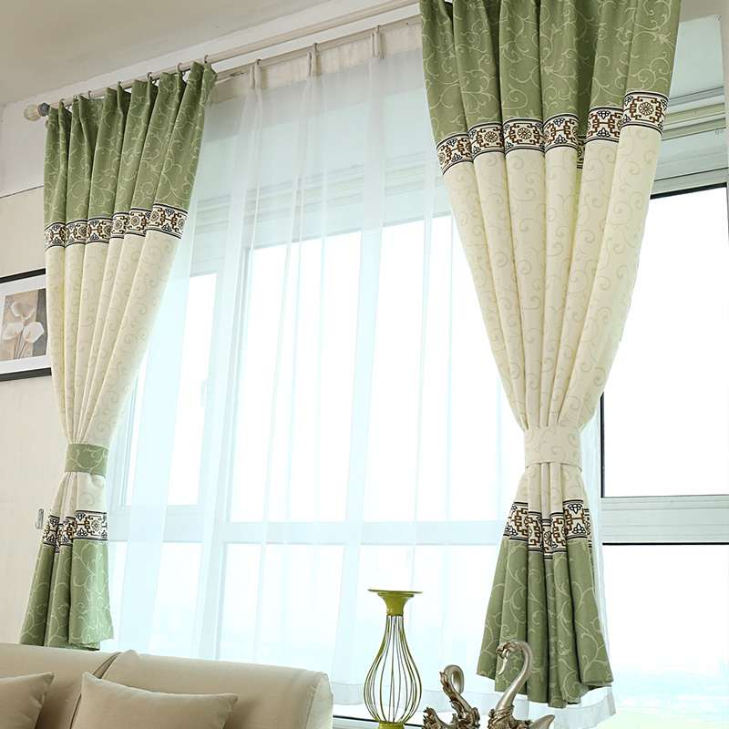 printed short curtains for living room bay window modern window curtains for kitchen cartoon curtains for kids room baby room in curtains from home - China Kitchen Green Bay 2