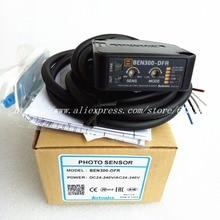 BEN300 DFR AC/DC  Diffuse Reflective Photoelectric Switch Sensor Sensing Distance 300mm Autonics New High Quality