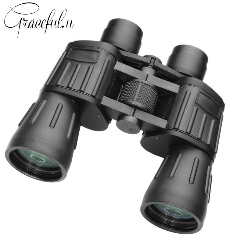 High Power Telescope HD 20X50 Professional Binoculars for Hunting Outdoor Camping Telescopio Night Vision Binoculars bijia professional optic night vision telescope 8 24x50 zoom binoculars hd waterproof for outdoor camping with tripod interface