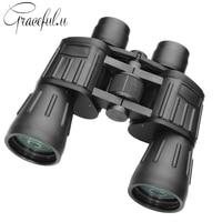 High Power Telescope HD 10X50 Professional Binoculars For Hunting Outdoor Camping Telescopio Night Vision Binoculars