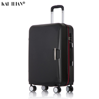 ABS+PC travel suitcase trolley Rolling luggage 20'' carry on Cabin suitcase spinner wheels 26 big luggage bag Women luggage men