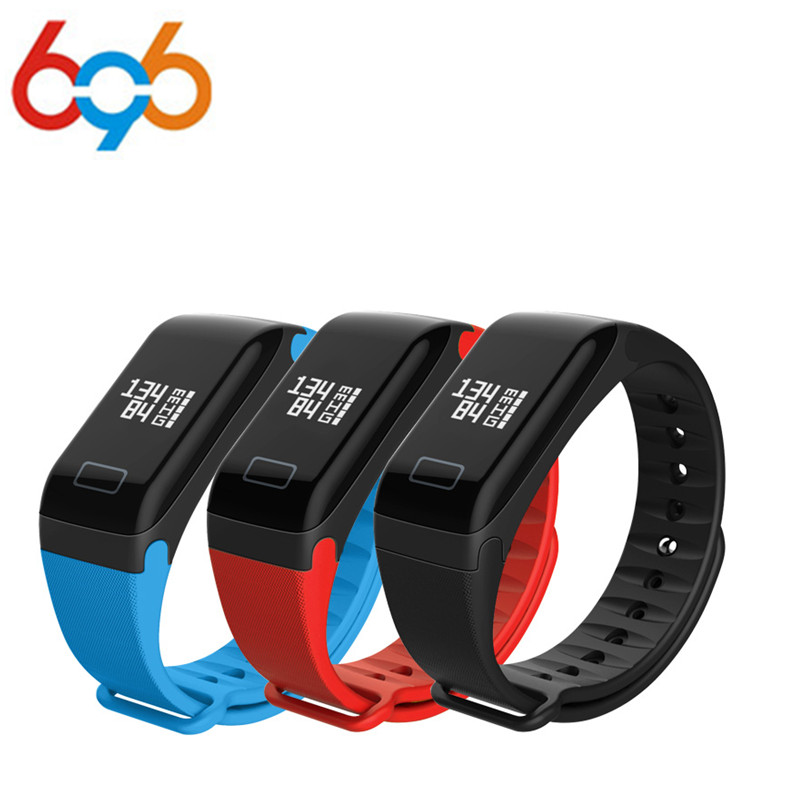 696 F1 Smart Band Blood Oxygen Blood Pressure Watches Fitness Sport Bracelet Heart Rate Monitor Call/SMS Reminder pk fitbits mib умные часы smart watch y1