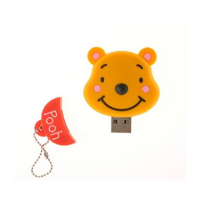 Image 3 - Cartoon Cute The bride and groom teddy bear doll 4G/8G/16G/32G/64G usb flash drive pen drive memory card U Disk Free shipping-in USB Flash Drives from Computer & Office