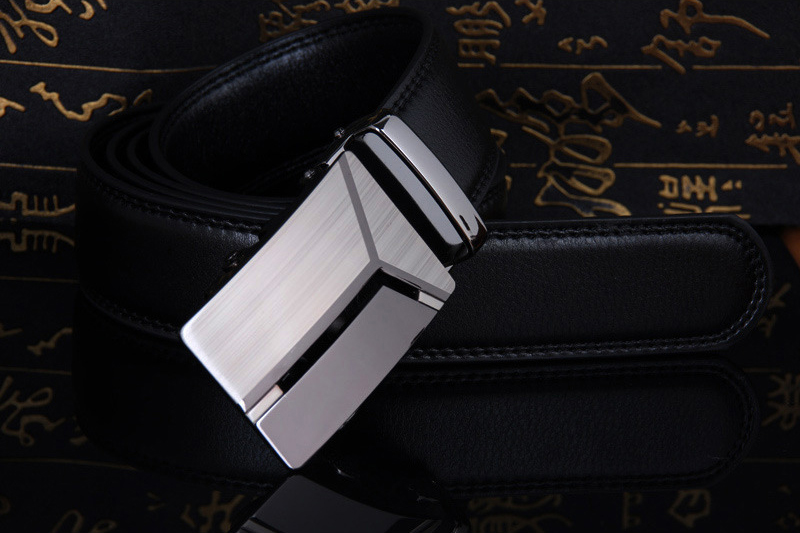 Cody Steel Mens Fashion Belt PU Leather Automatic Buckle Men Black Belt Designer Popular Casual Business Male Belts Luxury in Men 39 s Belts from Apparel Accessories