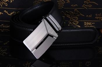 Cody Steel Mens Fashion Belt PU Leather Automatic Buckle Men Black Belt Designer Popular Casual Business Male Belts Luxury