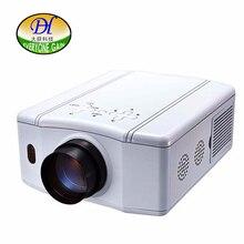Todo el mundo Obtener 3D LCD TV Proyector HomeTheater Ayuda 1080 P Proyector de Vídeo Led Construir-en el Altavoz estéreo de Bajo Ruido Beamer DH-TL86
