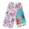 Стильный 360 Полное Покрытие Тела Цветок Цветочный Узор Печати Телефон случаях Conque Заднюю Обложку для iPhone 6 s 6 Plus Случае капа