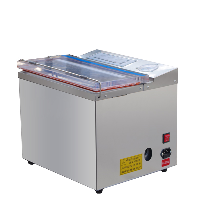 Tea vacuum packaging machine business wet and dry dual - use rice bricks food cooked food fresh sealing machine 220v 220v full automatic electric vacuum sealing machine dry and wet vacuum packaging machine vacuum food sealers